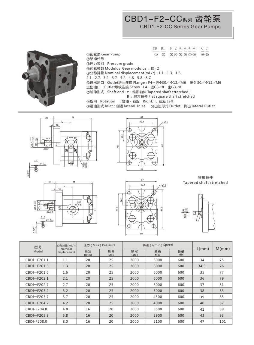 I-CBD1-F2-CC Pump Yezimoto