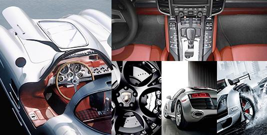 DC Gear Motors application car