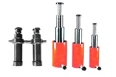 Daugiapakopė hidraulinių cilindrų serija