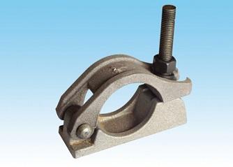 Cast steel pipe card