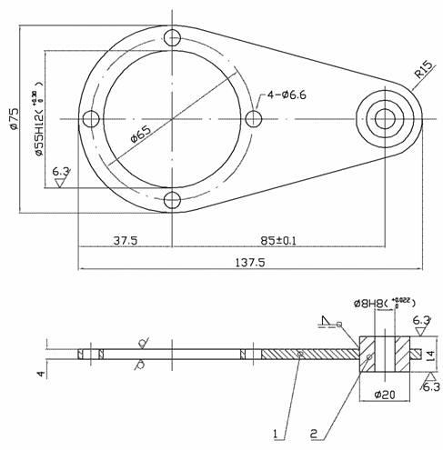 ແຂນ Torque NMRV030