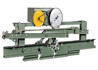 Двобрзинска машина за централно отварање врата